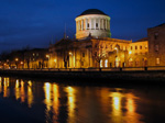 Dublin Four Courts and the River Liffey